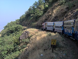Matheran Hill Railway - Image: Train to Matheran