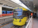 Tram 3074 at Manchester Airport (2).jpg