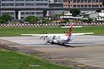TransAsia Airways ATR 72-212A B-22821 Departing from Taipei Songshan Airport 20150908d.jpg