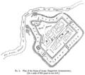 Travels in Kurdistan - 1. Plan of the Ruins of Arzen (Emporium Arzanenorum).png