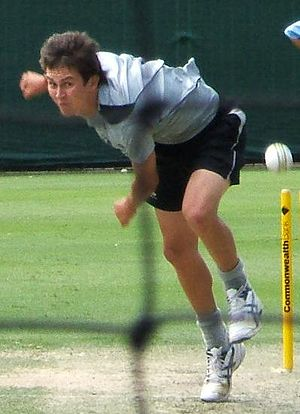 Trent Boult at a training session at the Adela...