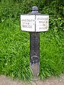 Trent and Mersey Canal Milepost - geograph.org.uk - 1388161.jpg