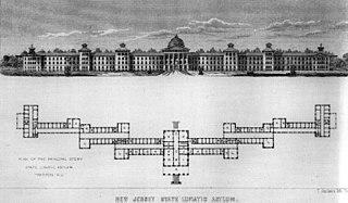 Kirkbride Plan hospital in Pennsylvania, United States