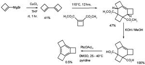 Tricyclobutabenzene - Synthesis of tricyclobutabenzene