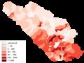 Tropolje population 2013 map.png