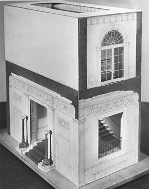 Architectural model - Image: Truman 71 381