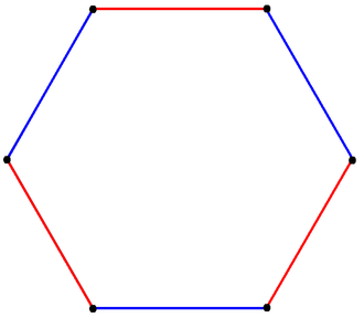 Uniform polytope - Image: Truncated triangle