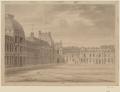 Tuileries, façade regardant la cour du Carrousel (dessin, avant 1806) – Destailleur Paris tome 6, 1292 – Gallica 2013.png