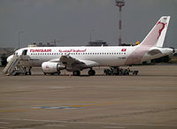 TS-IMS - A320 - Tunisair