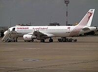 TS-IMS - A320 - Tunisair