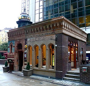 British Turks - A Turkish bath built in 1895 and situated in London.