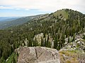 Twin Peaks from Jughandle Mountain northeast ridge in Payette National Forest.jpg