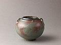 Two-eared jar, Jun ware MET SLP1665-1.jpg