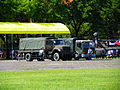 Two ROCA Trucks at ROCMA Ground Ready for Load Equipment 20140531.jpg