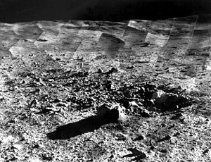 Tycho (lunar crater) - Image: Tycho Crater Panorama