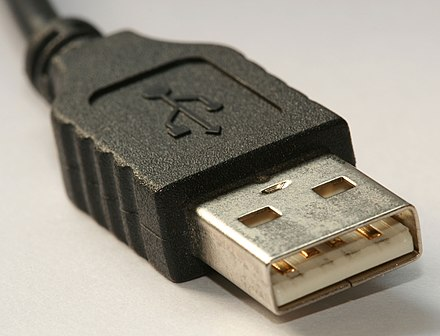 A male USB series A plug Type A USB Connecter alt.jpg