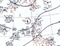 Typhoon Susan August 14, 1966 surface analysis.png
