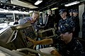 U.S. Secretary of Defense Chuck Hagel, front right, tours the bridge of the USS Freedom (LCS 1) in Singapore, June 2, 2013 130602-D-BW835-569.jpg