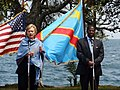 U.S. Secretary of State Hillary Clinton with D.R.C. Foreign Minister Alexis Thambwe Mwamba.jpg