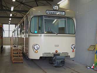 Frankfurt U-Bahn - U1 prototype vehicle 1001