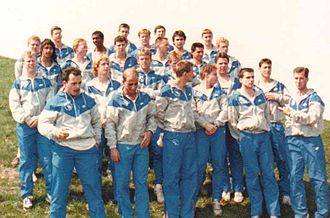 Buffalo Bulls - UB Men's Track Team, 1990