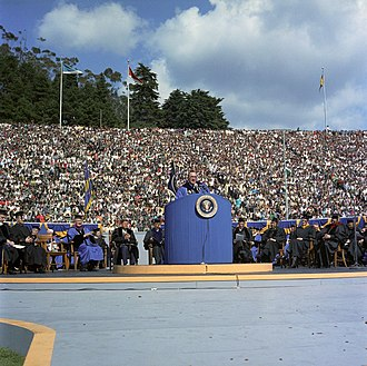 Pat Brown - Governor Brown speaks on Charter Day at UC Berkeley in 1962