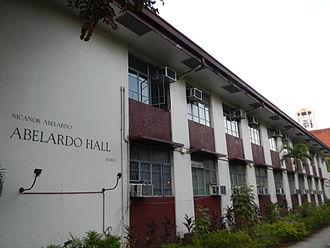 Nicanor Abelardo - N. Abelardo Hall (UP Diliman).