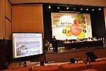 USAID's representative, Mr. Ghani Khan Marwat, during a presentation at Dawn Sarsabz Pakistan Agri Expo. (13125431965).jpg