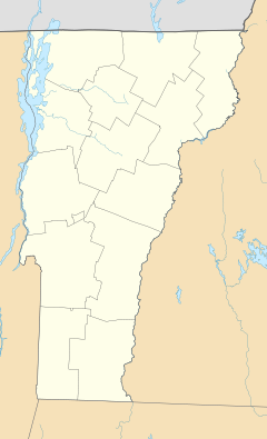 Wolcott is located in Vermont