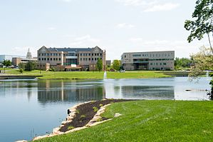 USI Campus overlooking Reflection Lake