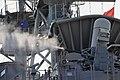 USS Bonhomme Richard fires a CIWS. (8744199459).jpg