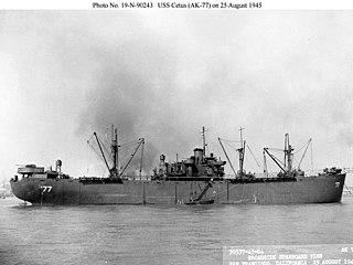USS <i>Cetus</i> (AK-77)
