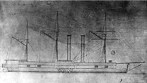 USS Fulton (1837) - Image: USS Fulton (1837)