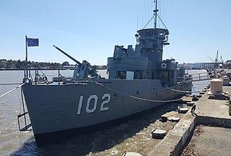 USS LCS(L)(3)-102 - USS LCS (L) (3) 102 at Mare Island, California, 2016