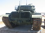 US Army 105 mm Gun Full Tracked Combat Tank M-60A3 (7485560070).jpg