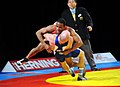 US Army 52132 Davis in World Wrestling Championships.jpg