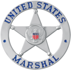 Badge of a deputy U.S. marshal