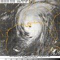 US Navy 050829-N-0000W-001 GOES-12 Satellite image of Hurricane Katrina.jpg