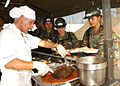 US Navy 050917-N-8253M-001 Meal served during Hurrican Katrina relief efforts by NMCB-40.jpg