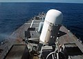 US Navy 071203-N-4014G-019 The forward Close-In Weapons System (CIWS) mount fires a volley of rounds during a live-fire exercise aboard the guided-missile destroyer USS Porter (DDG 78).jpg