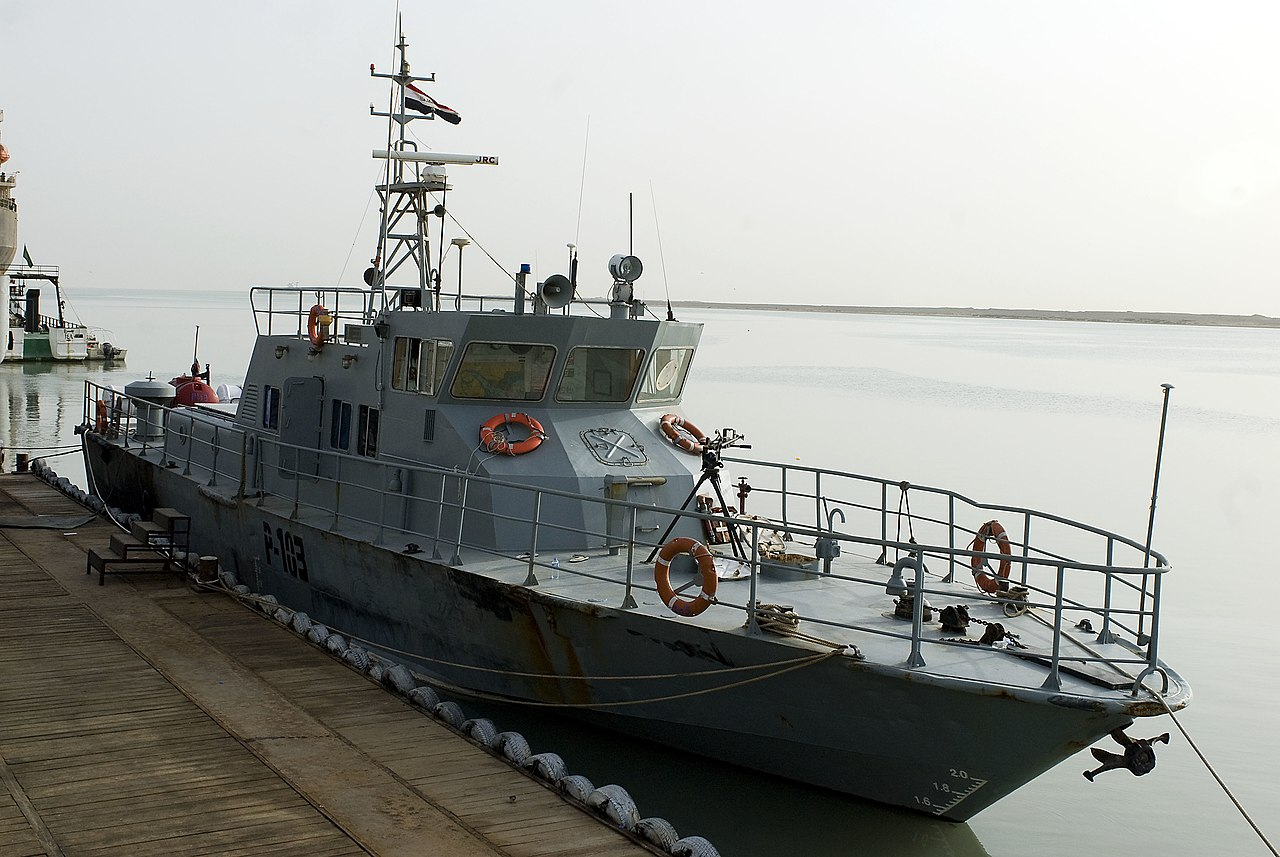 File Us Navy 090517 N 9286m 002 An Iraqi Navy Coastal