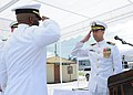 US Navy 100917-N-1906L-004 MSRON 7 holds change of command ceremony.jpg