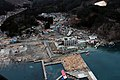 US Navy 110315-N-5503T-307 An aerial view of damage to Otsuchi, Japan, after a 9.0 magnitude earthquake and subsequent tsunami devastated the area in northern Japan.jpg