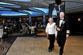 US Navy 110326-N-ZB612-015 Chief of Naval Operations (CNO) Adm. Gary Roughead escorts his wife, Ellen, during the welcoming of the official party t.jpg