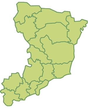 Rivne Oblast - Image: Ukraine Oblast Riwne Rajon blank