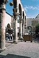 Umayyad Mosque, Damascus (دمشق), Syria - Detail of west Byzantine walkway from southwest - PHBZ024 2016 0047 - Dumbarton Oaks.jpg