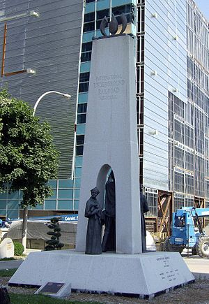 Underground Railroad - International Underground Railroad Memorial in Windsor, Ontario