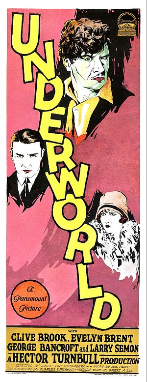 Underworld (1927 film) - Film poster