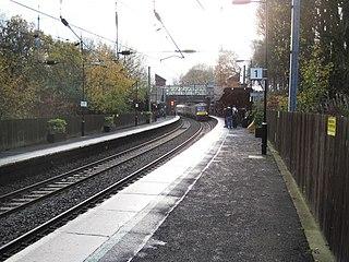 University railway station (England)