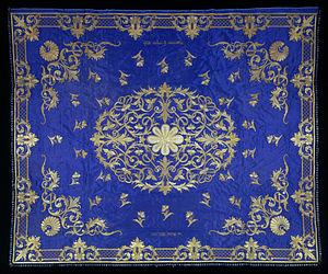 Ottoman Bulgaria - Ottoman era textile canopy from Bulgaria.
